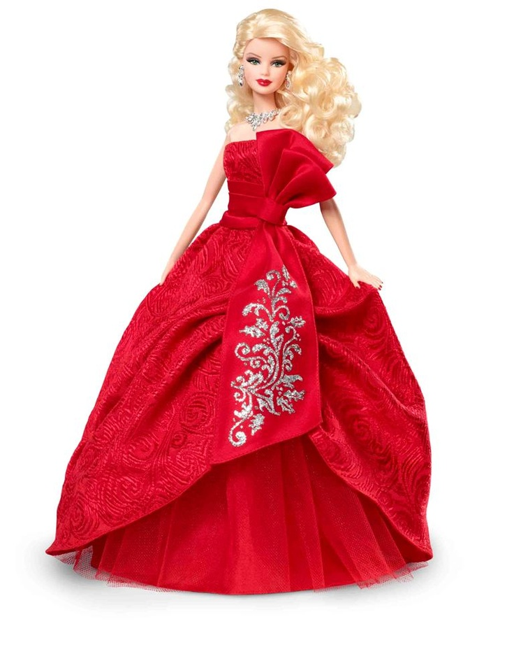 Best Barbie Dolls And Toys : Best images about christmas holiday barbie dolls on