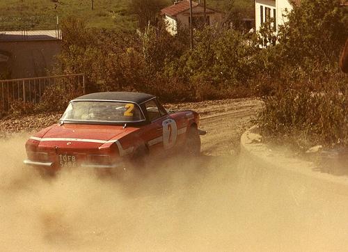Trombotto / Enrico Rally Elba 1971; Fiat 124 Spider