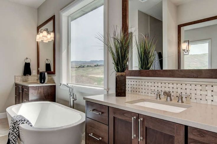 470 Medium Sized Master Bathroom Ideas