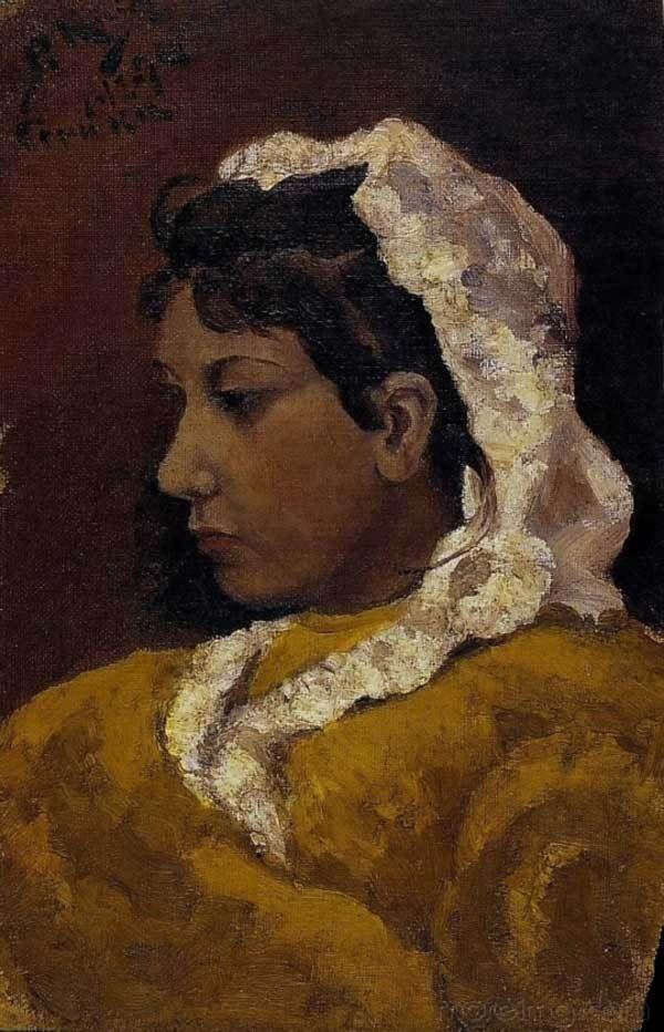 Pablo Picasso - Lola Picasso, 1894