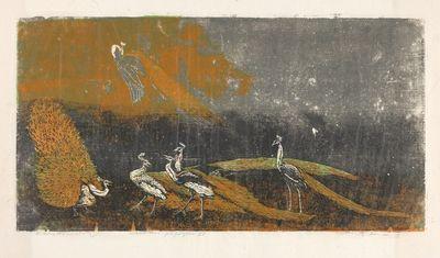 Frans Widerberg, «Peacocks II»
