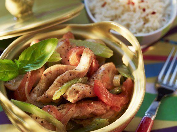 Hähnchenfleisch auf kreolische Art Rezept | EAT SMARTER