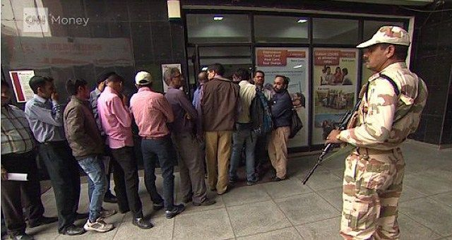 Bargeldverbot Indien