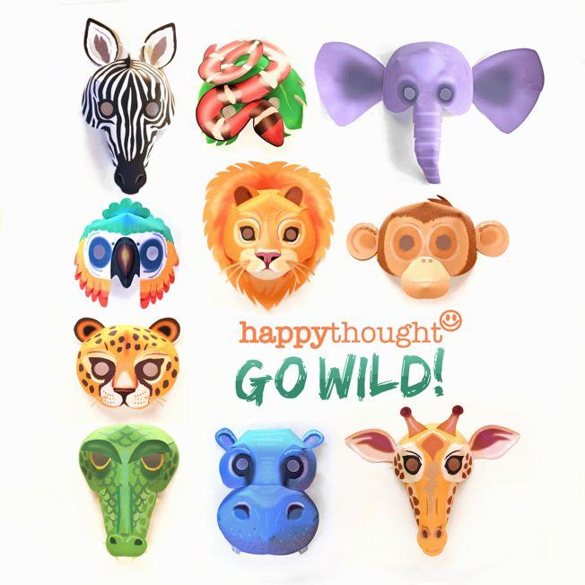 how to make animal masks at home