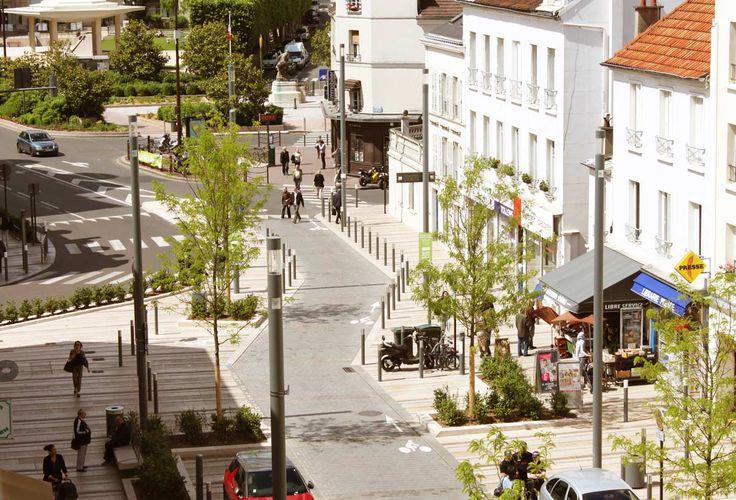 charenton le pont town centre 03 landscape architecture works landezine larch. Black Bedroom Furniture Sets. Home Design Ideas