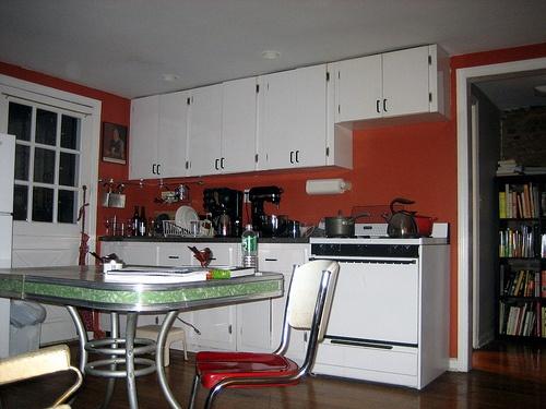 about Maroon Kitchen on Pinterest  White cab, Yellow kitchen designs