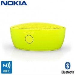 Głośnik BT Nokia MD-12 Yellow  NO8452ESM Wygoda bez kabli Głośnik Nokia MD-12 obsługuje łączność Bluetooth oraz NFC. Natomiast bateria o długiej żywotności zainstalowana w urządzeniu wystarczy na słuchanie muzyki nawet przez całą noc. Telekonferencje gdziekolwiek jesteś Brak ograniczeń - dzięki wbudowanemu w głośnik mikrofonowi możesz prowadzić telekonferencje praktycznie wszędzie.