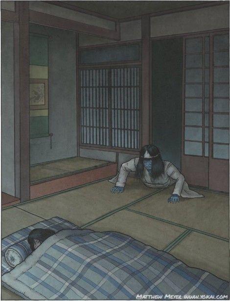A-Yokai-A-Day: Shiryō