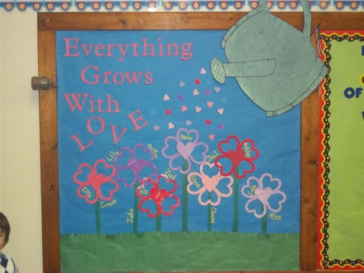 blooming in god's love bulletin board | Or it could say ...