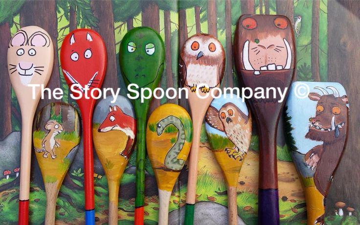 The Gruffalo Story Spoons