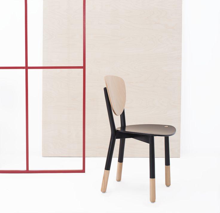 Krzesło A-1702 marki Fameg. Występuje w wersji jednokolorowej oraz dwukolorowej. Znajdź więcej na: www.euforma.pl                       #fameg #chair #A-702 #krzesło #home #design #polishdesign