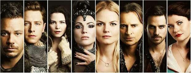 Beafire, Prince Charming, Snow white, Evil Queen, Emma Swan, Rumpelstiltskin, Hook, Bella