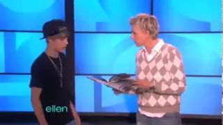 Justin Bieber Surprises Ellen & Dance - YouTube