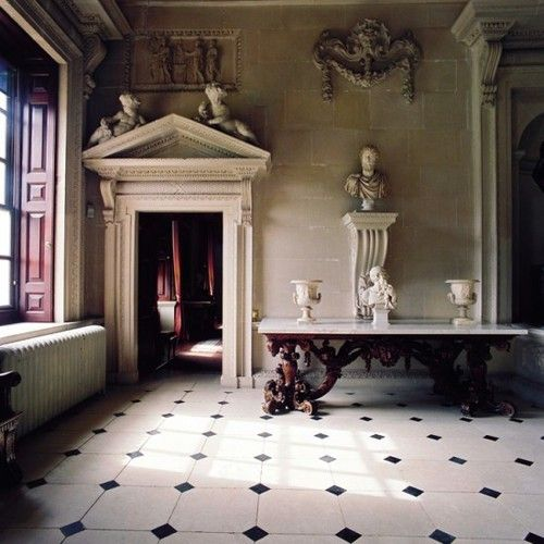 Houghton Hall, Norfolk, completed 1735. Architects: William Kent, Colen Campbell, James Gibbs, Thomas Ripley.