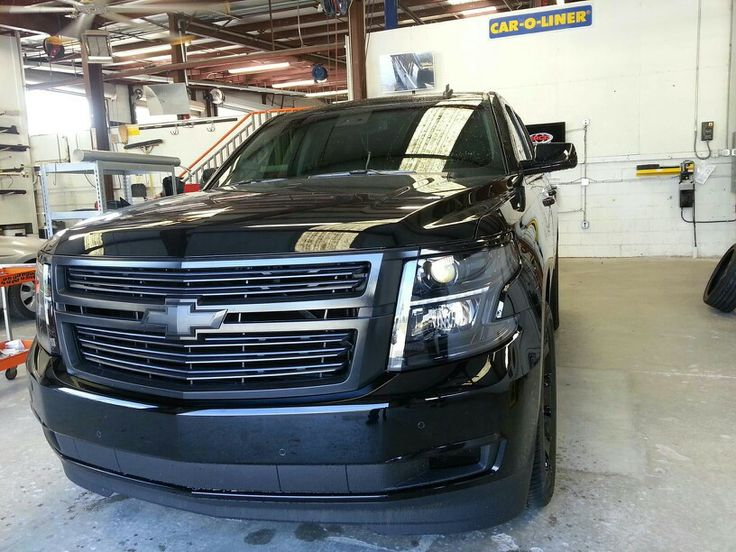 2015 Tahoe murdered out