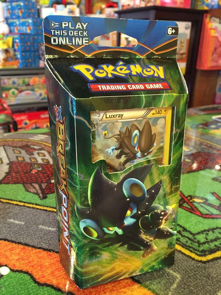 Pokemon, Theme Deck Electric Eye, incluant Luxray 405, 60 cartes Pokémon, 1 checklist, 1 jeton métallique (coin), 2 feuilles de règles du jeu, 1 code web, 1 boîte set deck et + damage counters. . Disponible dans la boutique St-Sauveur (Laurentides) Boîte à Surprises, ou en ligne sur www.laboiteasurprises.ca ... sur notre catalogue de jouets en ligne, Livraison possible dans tout le Québec($) 450-240-0007 info@laboiteasurprisesdenicolas.ca