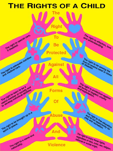 convention on the rights of the child (not the full version)