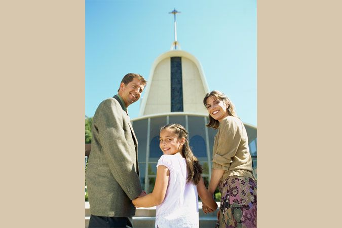 Catechetical leader Darcy Osby is encouraging family Mass attendance one family at a time.