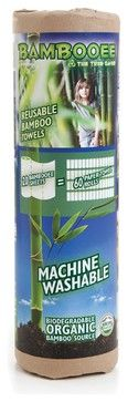 Bambooee Reusable Bamboo Paper Towel - modern - cleaning supplies - PaperlessKitchen