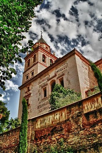 Iglesia de Sta Maria, Alhambra ( Granada ) Spain