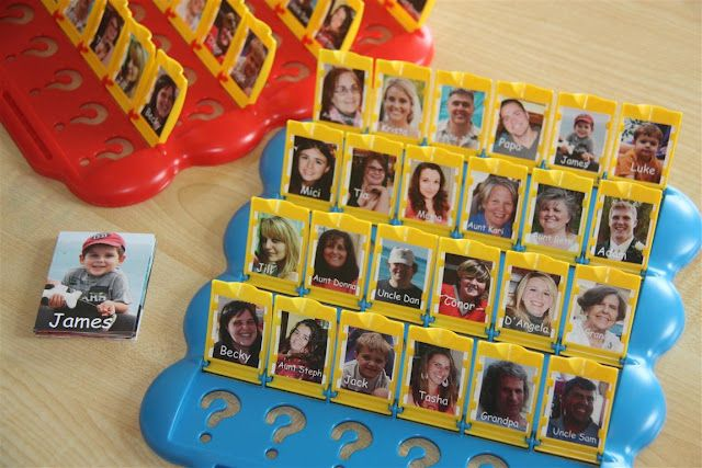 Maak een persoonlijk 'Wie is het' spel van de kinderen van de groep