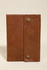 Oh Snaps Leather Notebook