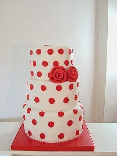 Tarta flamenca en *Con B de Boda* http://conbdeboda.blogspot.com.es