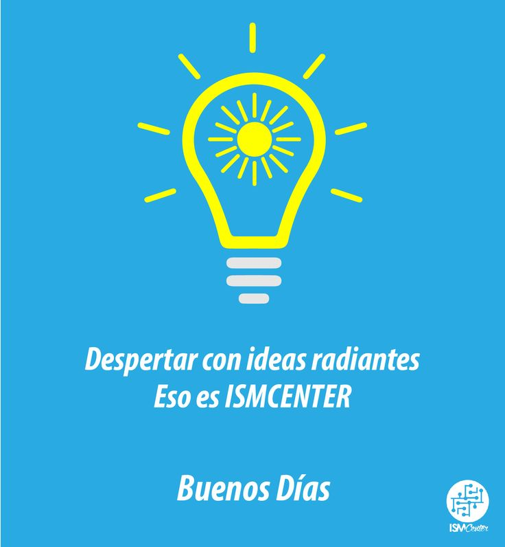 ¡Buenos Días! Siempre con ideas #ideas #Martes #diseño #MarketingDigital