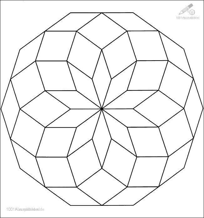 Mandala 5 Ausmalbilder Fur Kinder Mandalas Kinder Geometrische Malvorlagen Mandala Malvorlagen