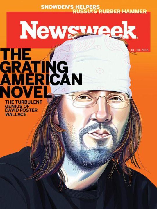 Il genio turbolento di DFW (Newsweek)