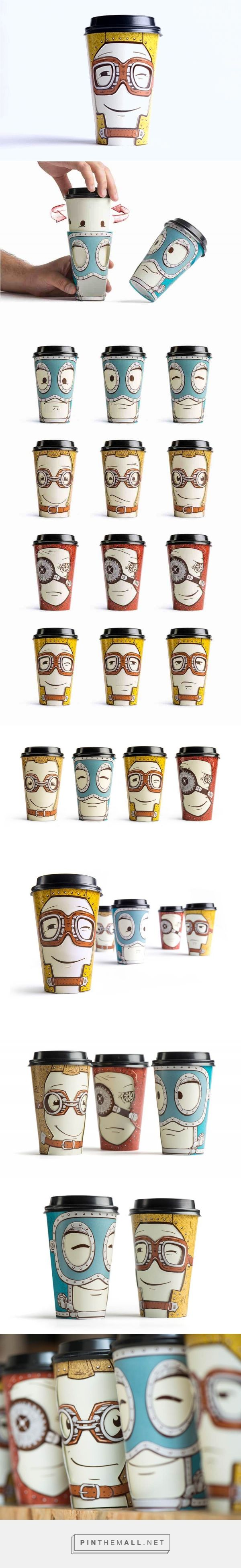 Super Creative Coffee Cup Moods  | Abduzeedo Design Inspiration - created via https://pinthemall.net