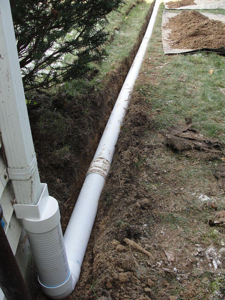 Wet foundation waterproofing repair drainage albany