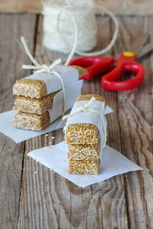 Homemade Sesame Seed Bars