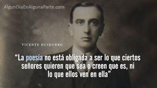 """El 2 de enero de 1948, #TalDíaComoHoy falleció el poeta y escritor chileno Vicente Huidobro, iniciador y exponente del movimiento estético denominado """"creacionismo"""". Entre sus obras destacan """"Ecos del alma"""", """"Canciones de la noche"""", """"La gruta del silencio"""", """"El espejo de agua"""" y """"Últimos poemas"""". Nació el 10 de enero de 1893."""