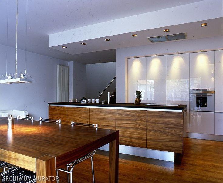 kuchnia drewno egzotyczne  kuchnia  Pinterest -> Kuchnia Jasna Drewno