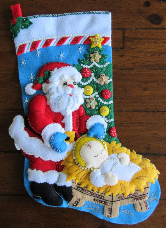 Bucilla A Season to Believe 18  Completed by MissingSockStitchery