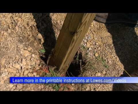 Wood Fence Installation Tips: Installing Posts and Pickets