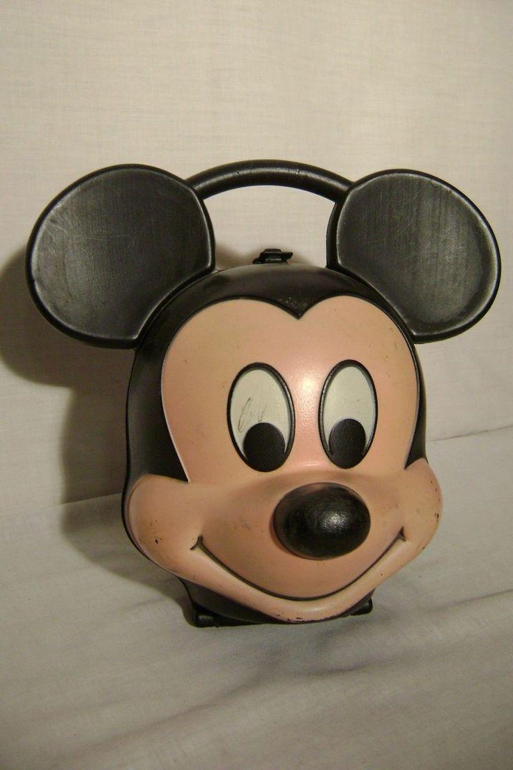 Mickey Mouse Head Lunch Box Aladdin & 98 best Mickey Minnie Mouse 2 images on Pinterest | Minnie mouse ... Aboutintivar.Com