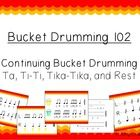 Introduce your kiddies to the world of bucket drumming with this continuing introduction kit!   This file includes 200 pages of rhythms and activit...