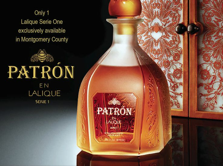 This bottle of Patron Tequila costs 6800