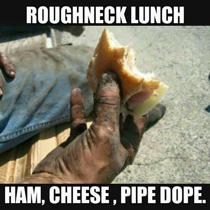 Sometimes you just need to eat. #RoughneckLife #OilfieldLifestyle #Oilfield #OilrigLife #RoughneckLifestyle #Alberta #MeanWhileInAlberta