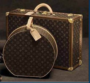 Louis Vuitton Luggage Collection & more Luxury Details