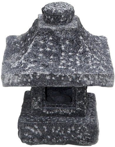 NVA Creative Garden Granite Osaka Japanese Granite Lantern by NVA Creative Garden Granite. $179.99. Hand carved from long-lasting and beautiful natural granite. Square base sits firmly on the ground, representing constancy. 10-Inch l by 10-Inch w by 12.5-Inch h; weighs 39 pounds. 10-Inch L x 10-Inch W x 12.5-Inch H; Weighs 39 pounds. Optional led light transforms your garden into a magical place in the evening (nva model 2960050). Features traditional Japanese design elements...