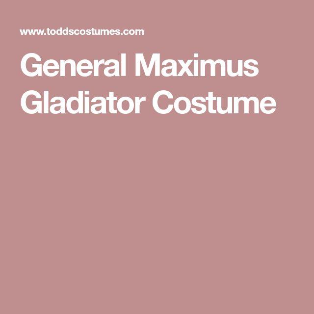 General Maximus Gladiator Costume