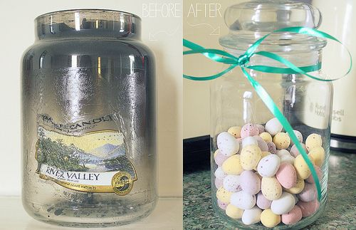 Ways to Recycle Your Yankee Candle Jars