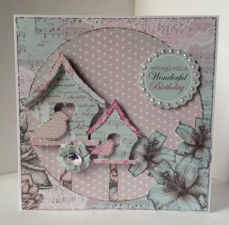 Card created by Debbie Pincher using Vintage Boho