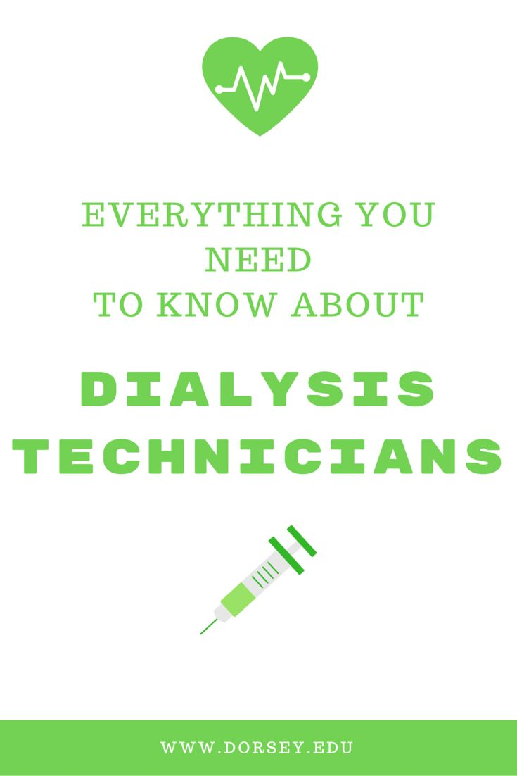 Best Me A Dialysis Technician Images On   Dialysis