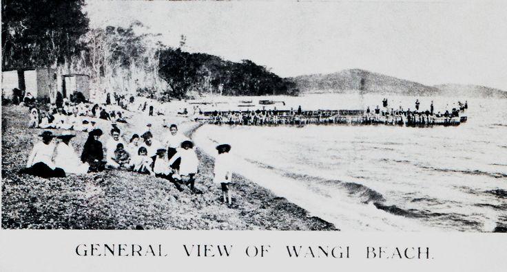 General View of Wangi Beach, Wangi, NSW [n.d.] | by UON Library,University of Newcastle, Australia