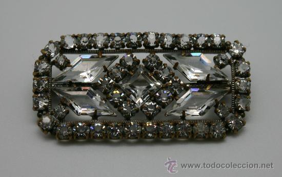 Broche de Cristal tallado años 30, 39 €