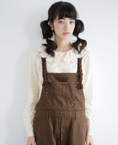 mori girl with cute hair